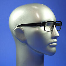 Screen Glasses Computer TV Anti Reflective No Glare Chunky Bold Black Frame