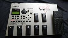 Roland V Bass System. Top Quality Multieffects pedalboard w/manual. 220v version