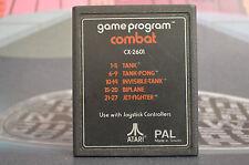 GAME PROGRAM COMBAT CX-2601 ATARI ENVÍO 24/48H