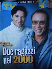 TV Sorrisi e Canzoni n°50 1999 Antonello Venditti Zucchero Luciano Ligabue [D19]