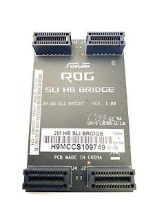 Asus Rog SLI HB Bridge Gigabyte GC-SLI2PL For NVIDIA Cards 2M 3-Slot 2-way