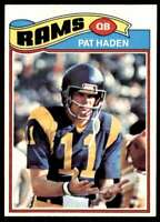 1977 Topps Pat Haden Cleveland Rams #18
