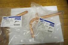 """(2) COPPER PEX STUB OUT 1/2""""x3 1/2""""x 8"""" WITH NAIL FLANGE """"LEAD FREE COMPLIANT"""""""