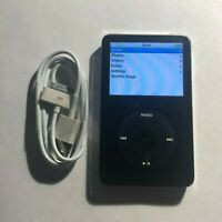 Apple iPod Classic 5th Generation Black (30 GB) Bundle Great Condition