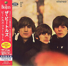 BEATLES - BEATLES FOR SALE REMASTERED ( MINI LP AUDIO CD with OBI )