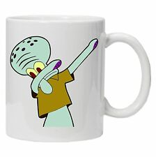 Squidward Dabbing Spongbob Squarepants Inspired Tea Coffee Mug Dab Popculture