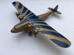 Dinky toys Aircraft 60a Imperial airways Atalanta 1st issue 150 Varieties Plane.