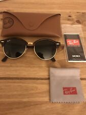 Ray Ban Clubmaster Ronde Lunettes de soleil