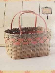 Craft tape basket  #2 Handmade kit Mini basket New From Japan