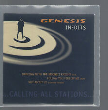 """GENESIS """"Inédits - ...Calling All Stations..."""" Cardsleeve Promo CD"""