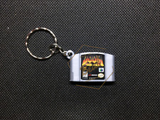 DOOM 64  3D CARTRIDGE KEYCHAIN Nintendo 64 N64 collectible