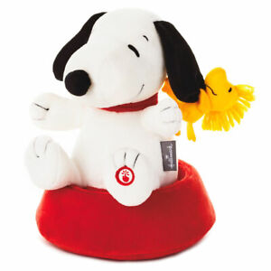 Hallmark Peanuts Silly Spinning Snoopy Plush with Sound and Motion New with Tag