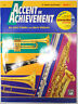 NEW ALFRED ACCENT ON ACHIEVEMENT - BOOK 1 WITH CD - TENOR SAXOPHONE