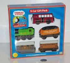 Thomas & Friends Wooden Railway Train Tank - NEW - 5-Car Gift Pack - Henrietta
