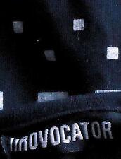 NROVOCATOR NavyBlueWhiteGeoPrintS/sCottonVneckSizeS