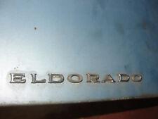 "OEM 1971 Cadillac Eldorado TRUNK DECK LID ""ELDORADO"" LETTERS EMBLEM MOLDING TRIM"