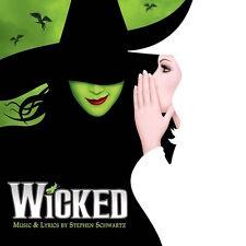 Wicked ORIGINAL BROADWAY CAST Stephen Schwartz NEW SEALED BLACK VINYL 2 LP