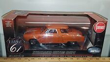1/18 HIGHWAY 61 1950 STUDEBAKER CUSTOM COUPE ORANGE with FLAMES yd