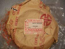 Kawasaki 1978-81 KLR250 NOS Left Engine Cover Disc. 14031-1003-2H