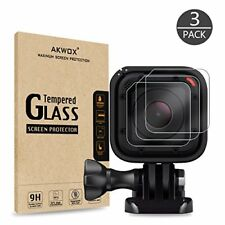 (Pack of 3) Tempered Glass Screen Protector for Gopro Hero 4 Session Hero 5 NEW