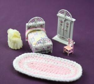 Miniature Doll Furniture Bedroom/nursery set