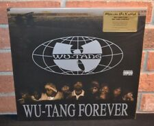 WU-TANG CLAN - Wu-Tang Forever, Limited 180G 4LP CLEAR VINYL Foil #'d NEW!