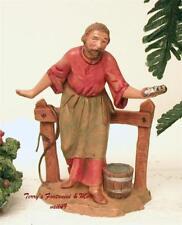 "Fontanini Depose Italy 5"" Abda Stablehand Nativity Village Figure 54035 New Nobx"
