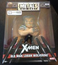 OLD MAN LOGAN WOLVERINE X-Men - Die Cast Metal Figure - Loot Crate Exclusive NEW