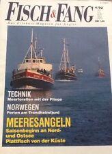 Fisch & Fang - Das Erlebnis-Magazin für Angler 4/92: Meerforellen mit der Fliege