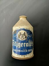 Vintage Fitzgerald's Burgomaster Beer Brand Cone Top Beer Can 12oz