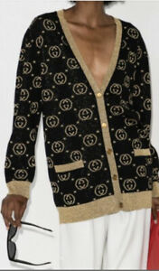 M- Gucci Wool GG Cardigan Jacket-With Tags- RRP$2,300 AUD