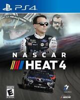 NASCAR Heat 4 - Sony Playstation 4 [NTSC, Track Racing, NASCAR, SplitScreen] NEW