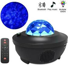 LED Galaxy Projector Starry Music Night Light Star Sky Projection Lamp USB