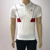 Lacoste Mens Sport Tech Pique Polo Shirt Novak Djokovic Collection