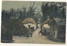 Vintage Postcard (1918?) - Cockington Forge Torquay - Posted 2297
