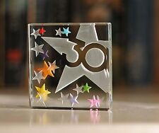 Happy 30th Birthday Gift Ideas Spaceform Glass  Keepsake Great Gifts Idea 1775