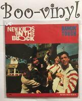 "NEW KIDS ON THE BLOCK - HANGIN' TOUGH     7"" VINYL PS Ex Con"