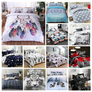 New Ultra Soft Quilt Doona Duvet Cover Set Single Double Queen Super King Bed