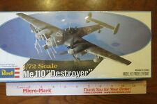 Revell Me 110 Zerstorer Destroyer Nightfighter 1/72 scale model H-95 sealed NIB!