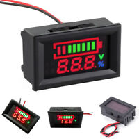 Charge Level Indicator Voltmeter for 12V Lead-acid Battery