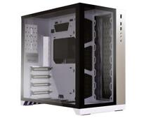 LIAN LI PC-O11 Dynamic White Tempered glass on the front, and left sides. Chassi