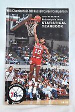 1987-88 Season Philadelphia 76ers STATISTICAL YEARBOOK