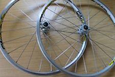 """Mavic Cross Land Disc Bike Wheels 26"""" Crossland Pair Wheelset 26 UST Tubeless"""