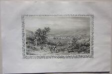 1838 NOYANT forges litografia Edmond Tudot Allier Desrosiers Souvigny Moulins