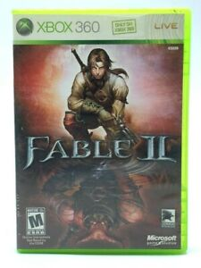 Fable II 2 (Microsoft Xbox 360, 2008) Tested And Working Role Playing Game RPG