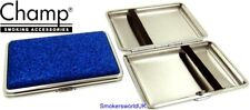 Cigarette Case -- Champ Small Blue Glitter 14 King Size -- NEW chks23