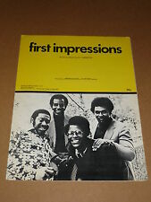 """Impressions """"First Impressions"""" sheet music"""