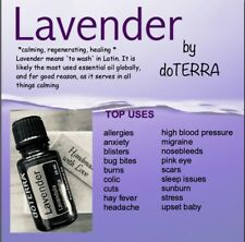 Essential Oil by doTERRA  - 'LAVENDER' mixed with FCO in a 5ml ROLLER Bottle