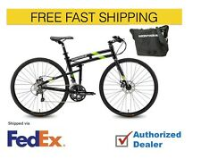 """Montague FIT 21"""" 700cc Folding Bike, Free Shipping, Free Bag, Authorized, New 1"""