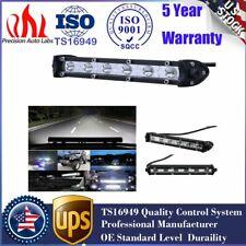 "7"" 18W Single Row Slim LED Spot Work Light Bar OFFROAD DRIVING LAMP SUV ATV US"